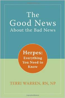 Terri Warren is the author of the best selling book on Herpes on Amazon.com. You may view it on amazon here